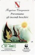 *ITALIA: REGIONE CAMPANIA* - Scheda Usata (variante 534b) - Italie