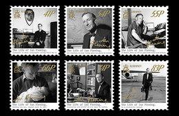 Alderney 2014 - The Life Of Ian Fleming Stamp Set Mnh - Alderney