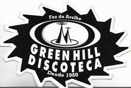 VINTAGE GREEN HILL DISCIOTECA FOZ DO ARELHO PORTUGAL Sticker - Autocollants