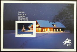 PORTUGAL Maximum Card / Postal Maximo - CTT Meu Selo, Publicity, Christmas - Maximum Cards & Covers