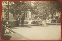 PISTA DI PATTINAGGIO - ANTICA FOTOGRAFICA 1913? - SKATING PATINAGE - Patinage Artistique