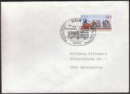 Germany Berlin 1979 / Philatelic Exhibition / Stamp's Day / Trains, Railway