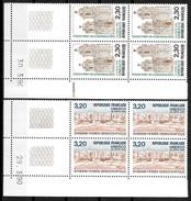 France Coins Datés 1990 UNESCO  Yv.Nr. Service 102 à 103 Neuf Sans Charnière  **