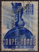 Soccer Football France / FIFA FFFA World Championchips - Coupe Du MONDE / Cinderella Label Vignette - Ball Globe