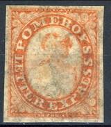US Local, RARITA', 1844 Pomeroy's Letter Express New York, Albany, Buffalo, Toronto, Carminio M