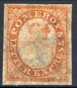 Mint 1844 US Local 117L5 Pomeroy's Red - 1845-47 Emissioni Provinciali
