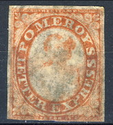 US Local, 1844 Pomeroy's Letter Express New York, Albany, Buffalo, Toronto, Carminio M - 1845-47 Emissions Provisionnelles
