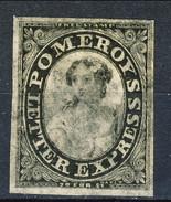 US Local, 1844 Mint 1844 US Local 117L3 Pomeroy's Black With 4 Margins - 1845-47 Emissioni Provinciali