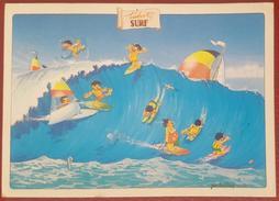 TAHITI SURF - POLYNESIE FRANCAISE - SERIE HUMOUR PAPEETE - Tahiti