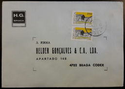 PORTUGAL - Cover 1988 - Cancel DRCS - Stamps Portuguese Architecture / Beira Interior 27$00 - H.G. Braga