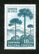 "CHILE ESTAMPILLAS 1967; ""CAMPAÑA NACIONAL FORESTAL""."