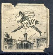 US Local, RARITA', 1843, City Dispatch Post PAID, New York (il Primo Francobollo Pittorico Del Mondo) I° Tipo, Difettoso - 1845-47 Emissions Provisionnelles