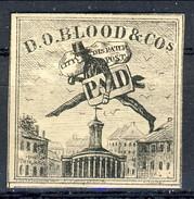 US Local RARITA', 1843 City Dispatch Post PAID New York (primo Francobollo Pubblicitario E Pittorico Al Mondo) I° Tipo M - 1845-47 Emissions Provisionnelles