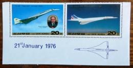 COREE DU NORD Concorde,  Avion, Plane. Yvert 1892/3 ** MNH - Concorde