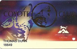 Spirit Mountain Casino Grand Ronde, OR USA - Latest Slot Card