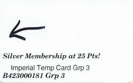 Imperial Casino - Cripple Creek, CO USA - Temporary Bus Group Slot Card