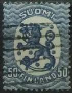NORUEGA 1919 Standing Lion. USADO - USED.