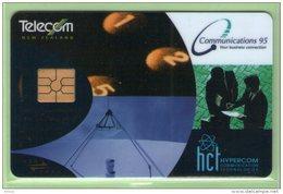 New Zealand - 1995 Communications - $5 Telecom - NZ-E-30 - Mint