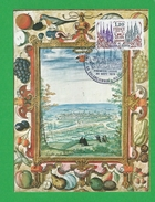 FRANCE CARTE MAXIMUM  N° 2064 Chateau De Maison Laffite Theme Valenciennes Maubeuge - 1970-79