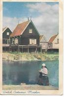 CPSM -  FOLKLORE - NEDERLAND -  Dutch Costumes : MARKEN - Kostums