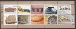 2013 - Symbols Of South Africa Culture - Mi:ZA 2239-2248KB - MNH - Blocchi & Foglietti