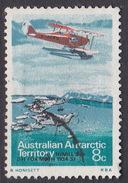Australian Antarctic Territory S 26 1973 Definitives 8c Fox Moth Used - Australian Antarctic Territory (AAT)