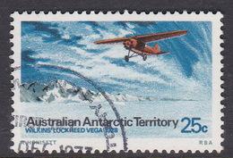 Australian Antarctic Territory S 30 1973 Definitives 25c Lockheed Used - Territoire Antarctique Australien (AAT)