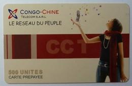CONGO - Chine Telecom - Prepaid - Le Reseau Du Peuple - 500 Units - 31.12.04 - Used - Congo