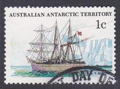 Australian Antarctic Territory  S 37 1979-1982 Definitive Ships 1c Aurora Used