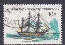 Australian Antarctic Territory  S 40 1979-1982 Definitive Ships 10c Challenger Used
