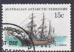 Australian Antarctic Territory  S 41 1979-1982 Definitive Ships 15c Morning Used