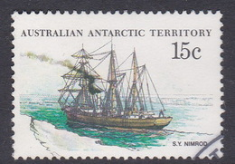 Australian Antarctic Territory  S 42 1979-1982 Definitive Ships 15c Nimrod Used - Territoire Antarctique Australien (AAT)
