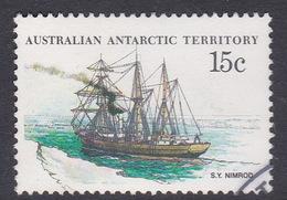 Australian Antarctic Territory  S 42 1979-1982 Definitive Ships 15c Nimrod Used