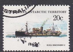 Australian Antarctic Territory  S 43 1979-1982 Definitive Ships 20c Discovery II Used - Australian Antarctic Territory (AAT)