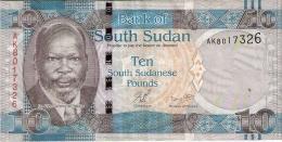 SOUDAN Du SUD   10 Pounds   ND (2011)   P. 7 - Soudan Du Sud