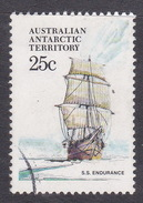 Australian Antarctic Territory  S 45 1979-1982 Definitive Ships 25c Endurance Used