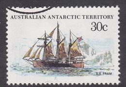 Australian Antarctic Territory  S 46 1979-1982 Definitive Ships 30c Fram Used