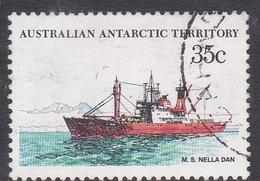 Australian Antarctic Territory  S 47 1979-1982 Definitive Ships 35c Nella Dan Used