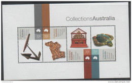 AUSTRALIA, 2015, MNH, COLLECTIONS, ART, TURTLES, ANCHORS, SHEETLET - Tortues