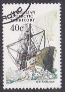 Australian Antarctic Territory  S 48 1979-1982 Definitive Ships 40c Kista Dan Used