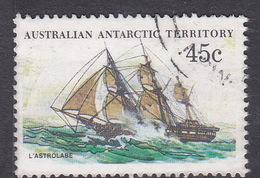 Australian Antarctic Territory  S 49 1979-1982 Definitive Ships 45c L'Astrolabe Used
