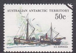 Australian Antarctic Territory  S 50 1979-1982 Definitive Ships 50c Norvegia Used