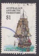 Australian Antarctic Territory  S 52 1979-1982 Definitive Ships $ 1.00 Resolution
