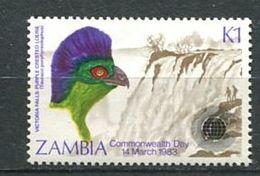 196 ZAMBIE 1983 - Yvert 277 - Oiseau - Neuf ** (MNH) Sans Trace De Charniere - Zambie (1965-...)