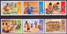 TOKELAU 1983 SG 97-102 Compl.set Used Traditional Pastimes - Tokelau