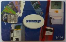 CUBA - Schlumberger Demo - B/.1.00 - Mint Blister