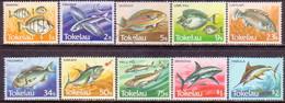 TOKELAU 1984 SG 108-17 Compl.set Used Fishes - Tokelau