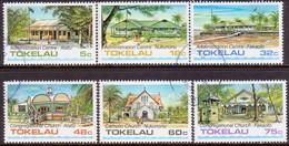 TOKELAU 1985 SG 124-29 Compl.set Used Architecture (1st Series) - Tokelau