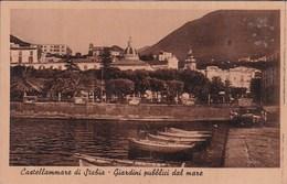 L581 CASTELLAMMARE DI STABIA - GIARDINI PUBBLICI DAL MARE - Napoli (Napels)