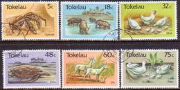 TOKELAU 1986 SG 136-41 Compl.set Used Agricultural Livestock - Tokelau